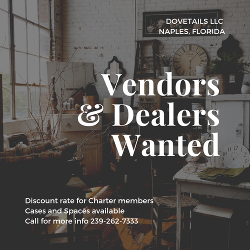 Vendors & Dealers Wanted