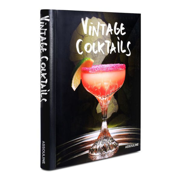 Book Vintage Cocktails - Assouline