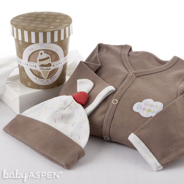 Sweet Dreamzz A Pint of PJs (Chocolate) - Baby Aspen