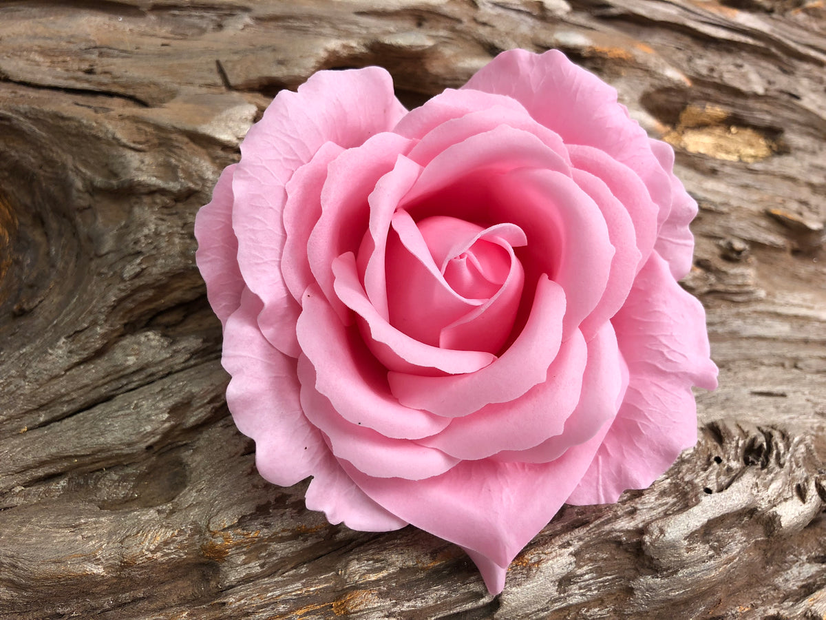 Soap Blooms: Single Heart-Shaped Rose
