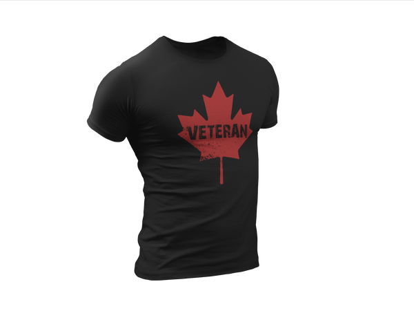 Canadian Veteran - Short-Sleeve Unisex T-Shirt