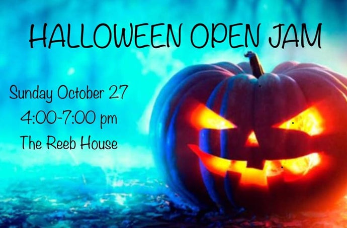 Music Depot Halloween Open Jam