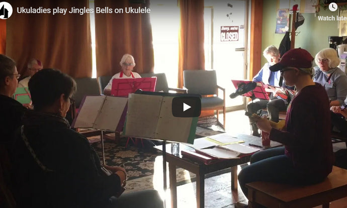 The Ukuladies Will Debut At The Music Depot Snow Ball Dinner Dance