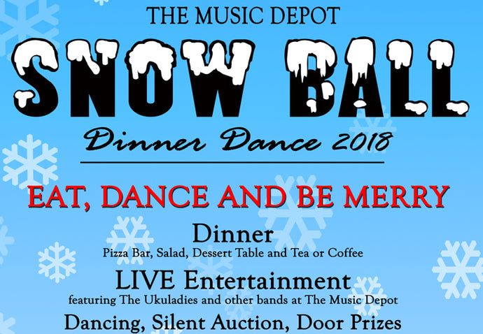 5th Annual Snow Ball Dinner Dance Tickets Now On Sale
