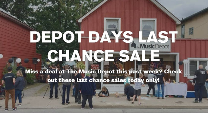 Last Chance Depot Days Sale