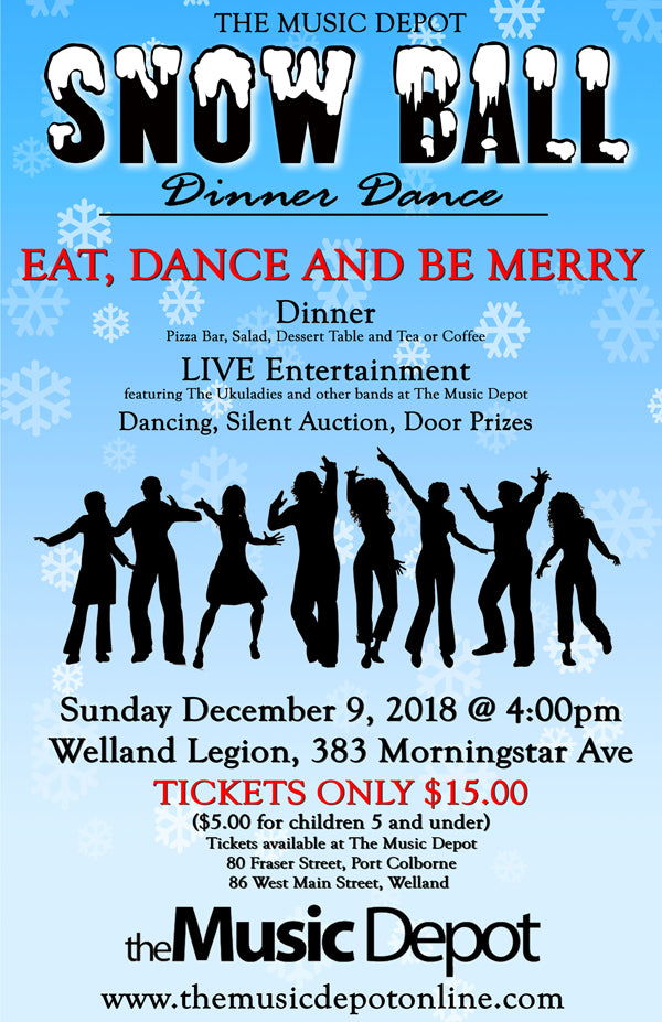 Music Depot Snow Ball Dinner Dance