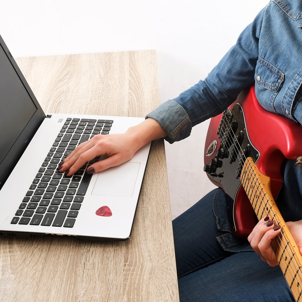 Private Online Guitar Lessons - Free Trial with Jessica Wilson