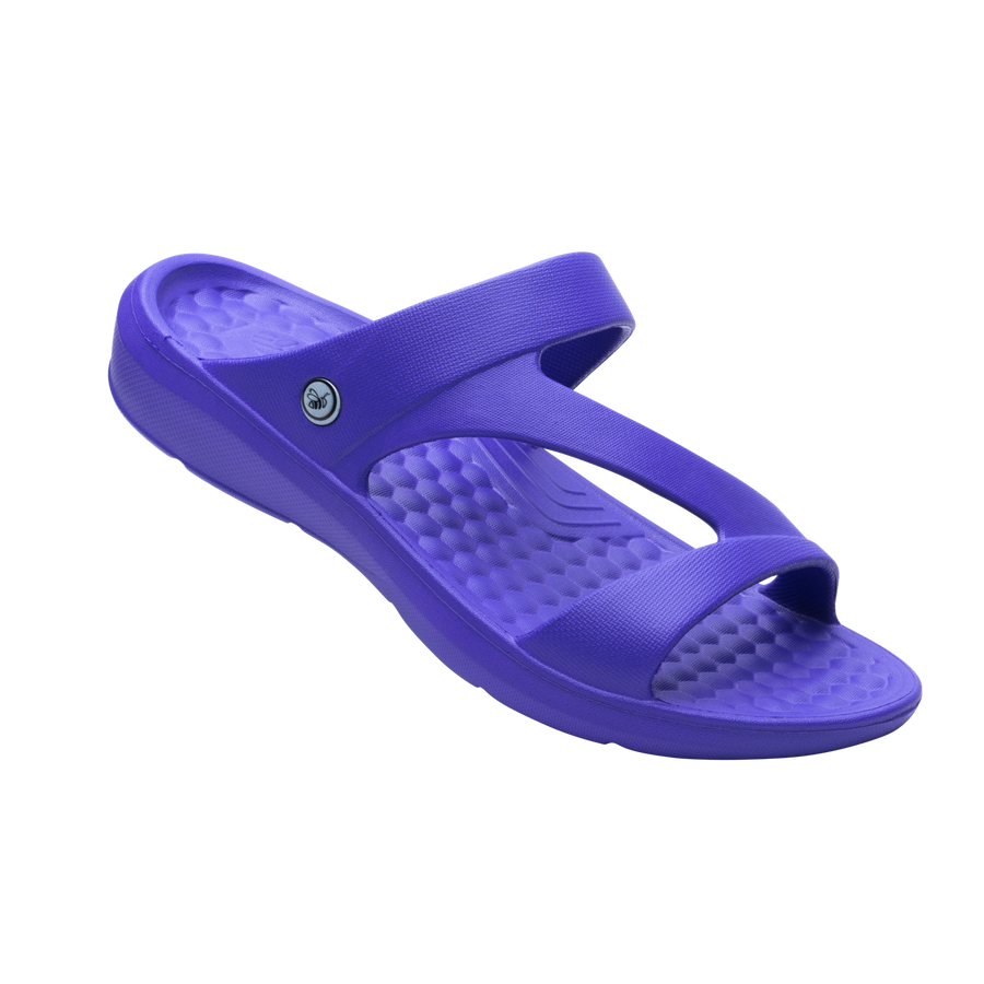 Womens Z Strap Sandal - Purple