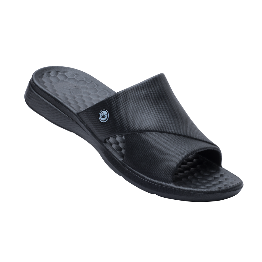 Womens Lounge Slide - Black