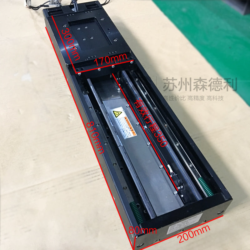 Ball Screw Linear Positioning Stage SGLFW-50A 200AP W/ Yaskawa Servo Motor W/ Driver SGDS-08A05A - SDL Industrial Club