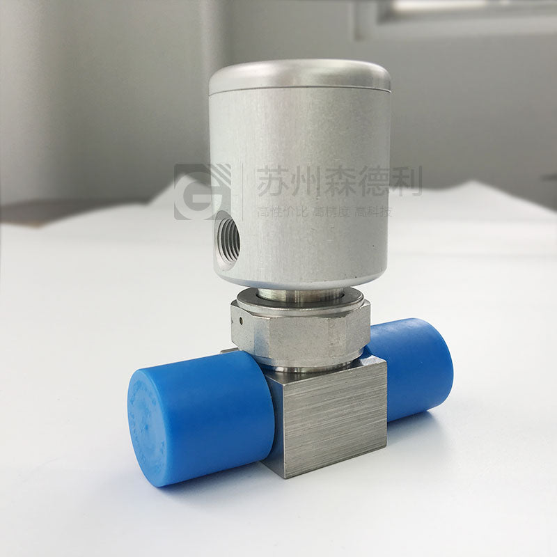 Swagelok 6LV-DAFR4-C VCR Fitting Diaphragm Sealed Valve 1/2 in.NC Actuator - SDL Industrial Club