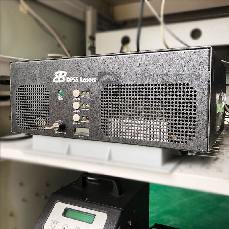 DPSS Lasers UV Laser Systems Laser Head 3505 Power supply 3500 Thermo Tek Solid State recirculating Chiller T255P - SDL Industrial Club