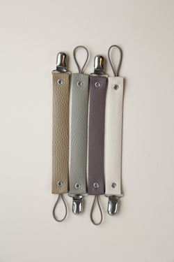 Leather Pacifier Holder