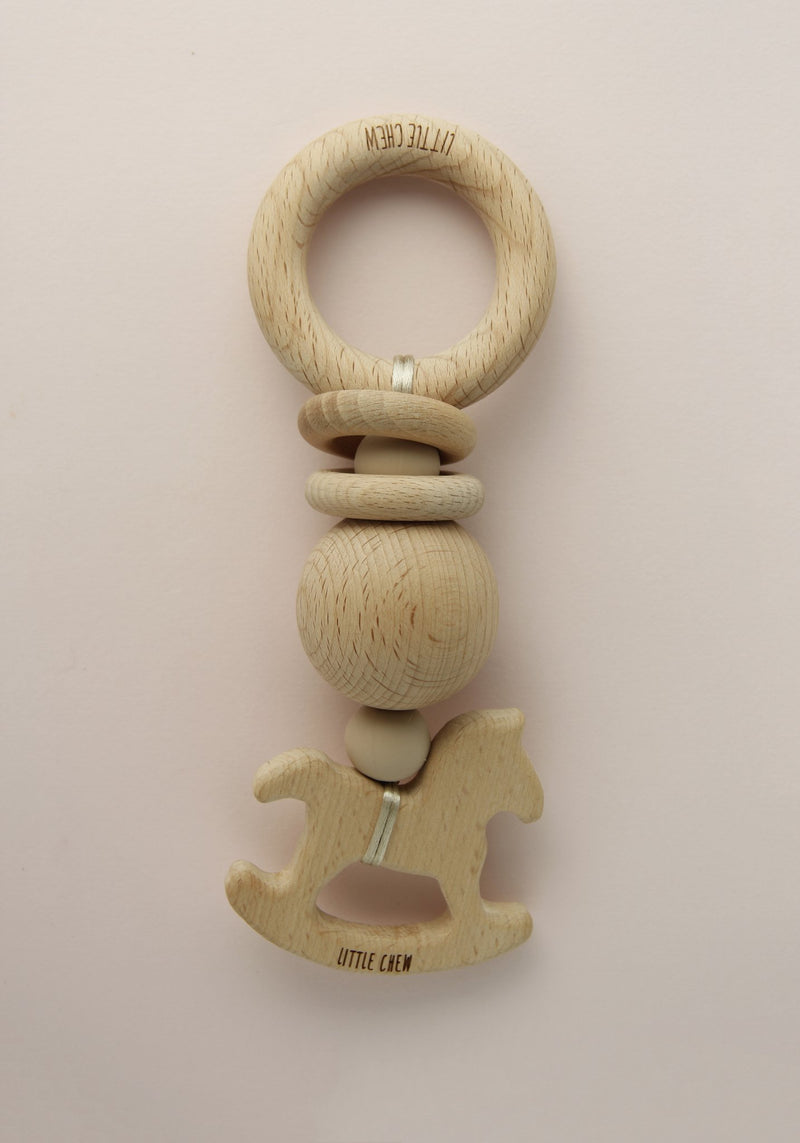 Rocking Horse Rattle Toy