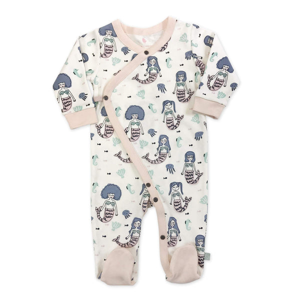 Mermaid Footie Coveralls