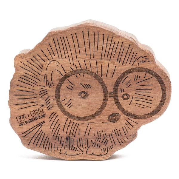 Hedgehog Wood Teether