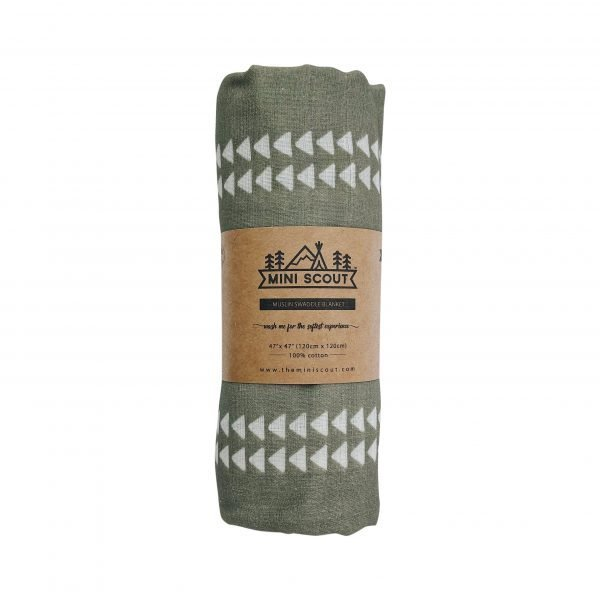 Arrow (Sage Green) Swaddle