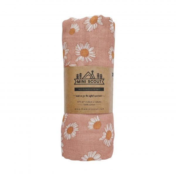 Daisy (Blush Pink) Swaddle
