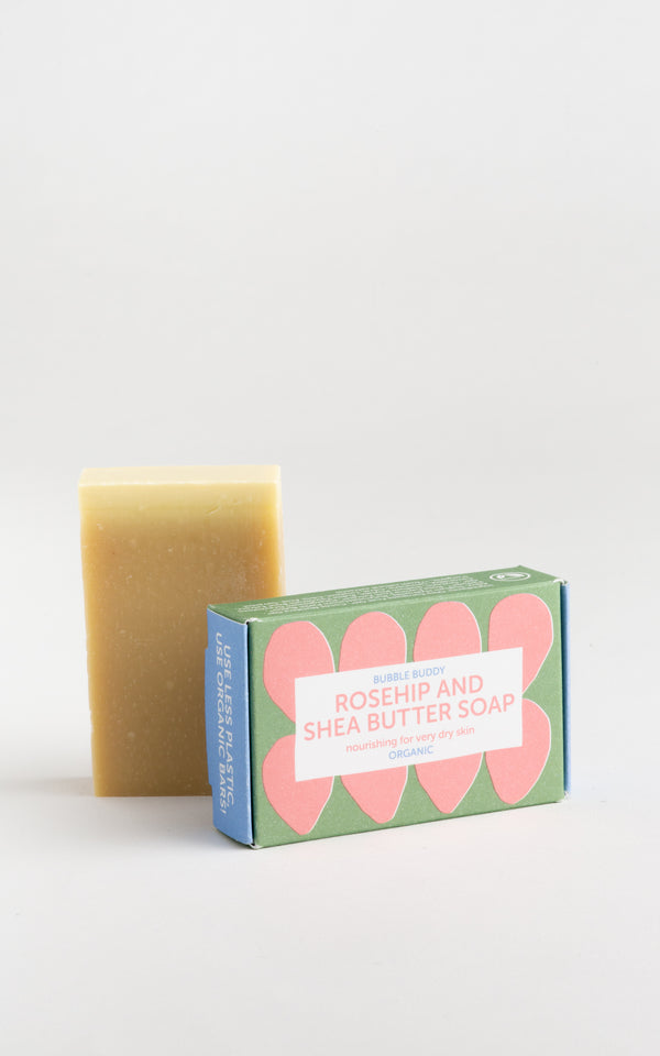 Bubble Buddy Rosehip and Shea Butter Soap