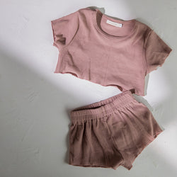 Kealia Crop Top | Mauve