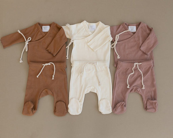 Blush Cotton Layette Set
