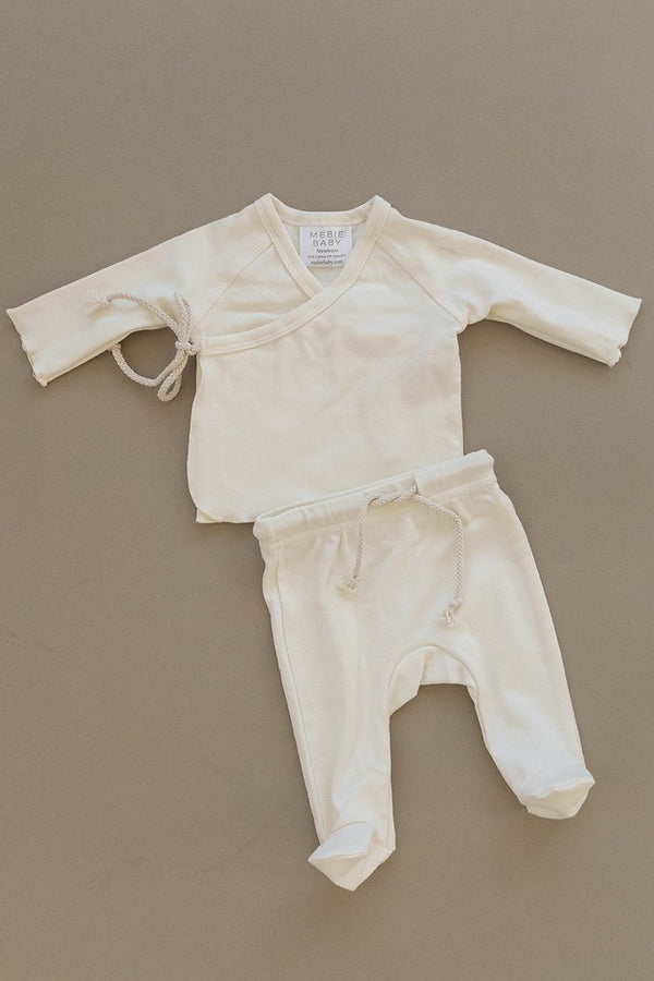 Cream Cotton Layette Set