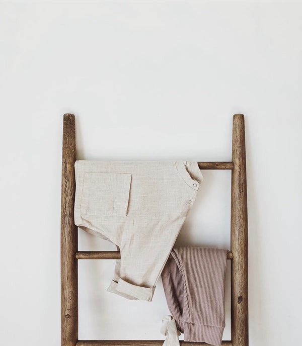 The Cloud Linen Top in Cream