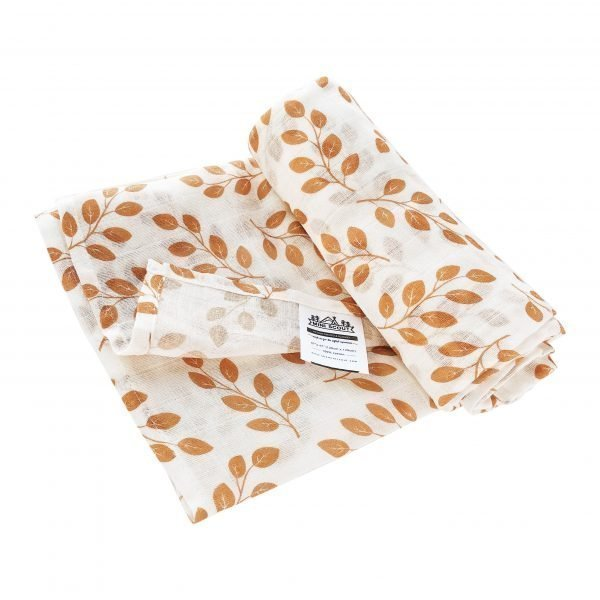 Leaves (Amber) Swaddle