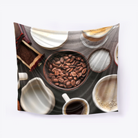 Coffee Table Wall Tapestry