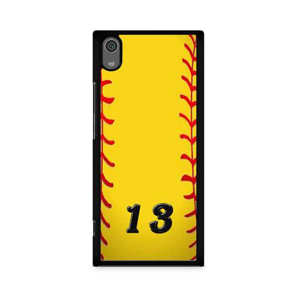13 Custom Softball Sony Xperia XA1 Case