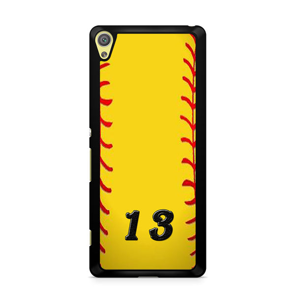 13 Custom Softball Sony Xperia XA Case