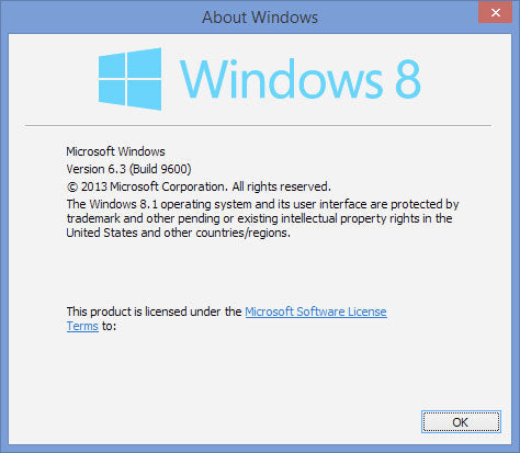 About Windows 8