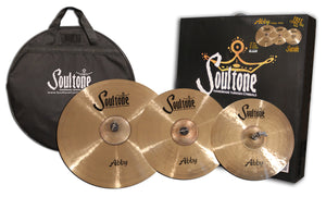 "Soultone Abby Cymbal pack - 20""ride,16""crash,14""hats"