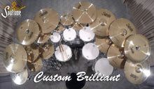 "Load image into Gallery viewer, Soultone Custom Brilliant Series 15"" Hi hats"