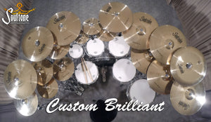 "Soultone Custom Brilliant Series 15"" Hi hats"