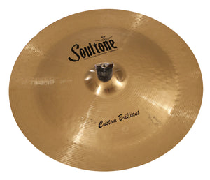 "Soultone Custom Brilliant 20"" China"