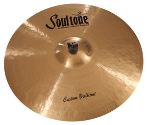"Soultone Custom Brilliant 21"" Ride"