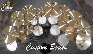 "Soultone Custom  Series 14"" Hi hats"