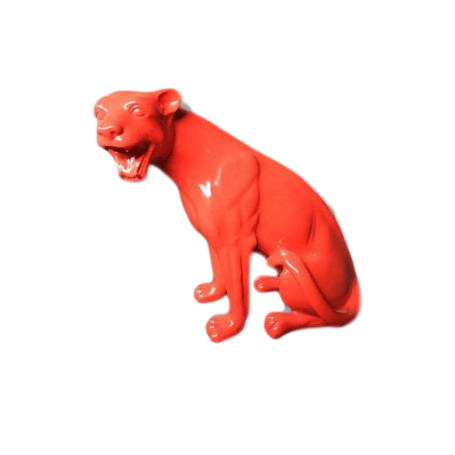 Panther - Red Sitting Design