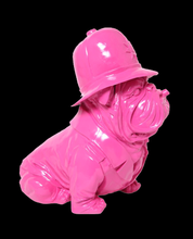 Load image into Gallery viewer, English Bulldog - Policeman Pink Design