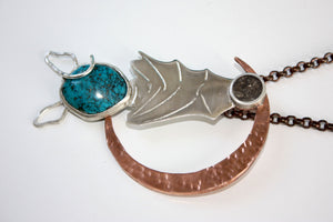 Custom Made Bat Animal Moon