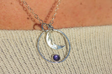 Load image into Gallery viewer, Iolite Moon Necklace and The Knit by ZENPUI