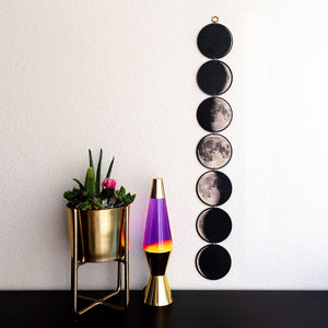 Moon Phases Linked Wall Art