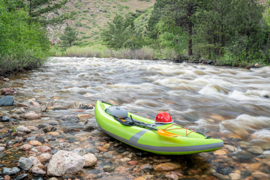 Paddles Meet Portability: The Absolute 5 Best Inflatable Kayaks