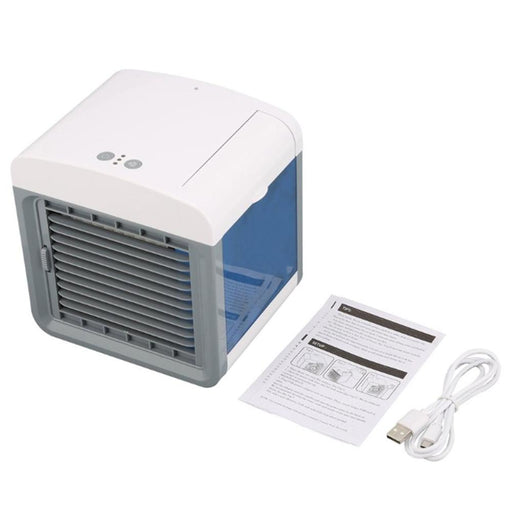 Convenient Air Cooler Fan Portable Digital Air Conditioner Humidifier Space Easy Cool Purifies Air Cooling Fan for Home Office - PanasiaMarine.Com