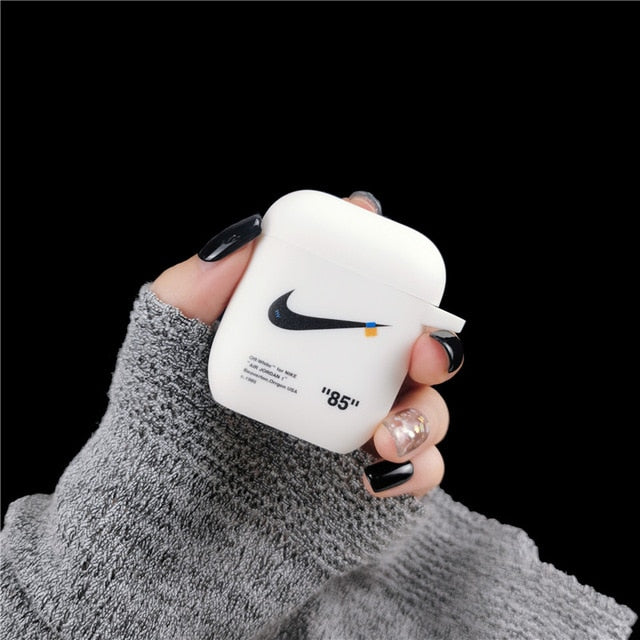 Luxury Case for Apple Airpods 2 Case Soft Silicone Bluetooth Wireless Earphone for funda Airpods Accessories Cover Bags 1:1 - PanasiaMarine.Com