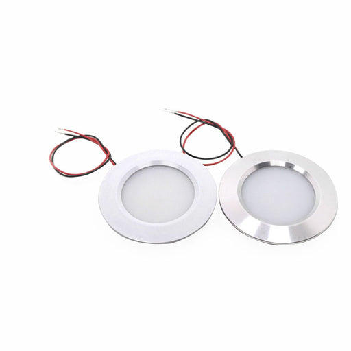 1Pcs Car LED Dome Light 12V Recessed Down Interior Lamp for Camper Home Boat Trailer RV Light - PanasiaMarine.Com