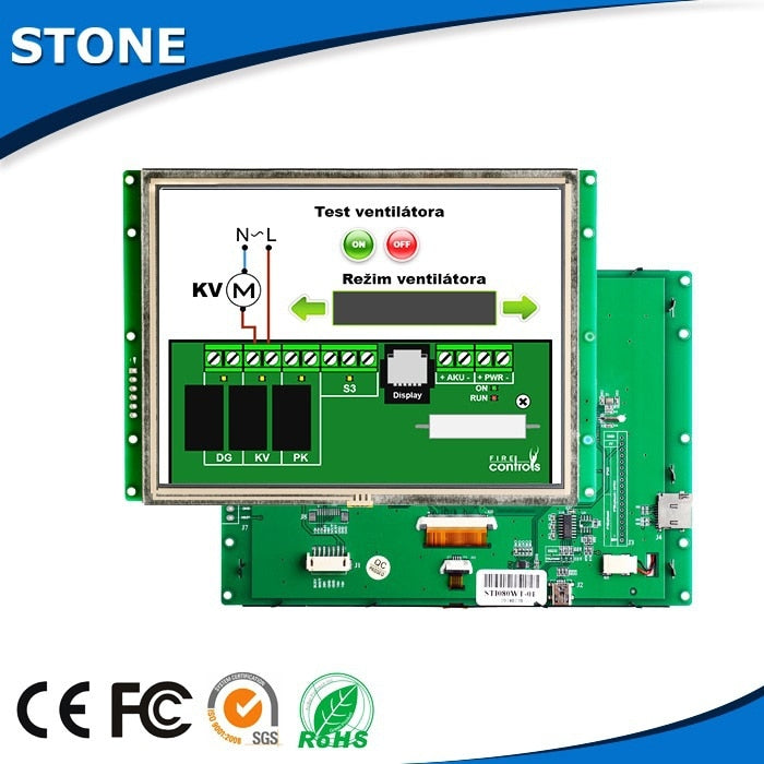 TFT Driver LCD With MCU Interface For Marine Equipment - PanasiaMarine.Com
