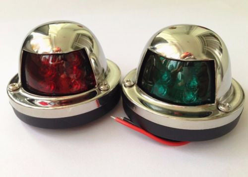 Stainless Steel Bow Navigation Lights - PanasiaMarine.Com