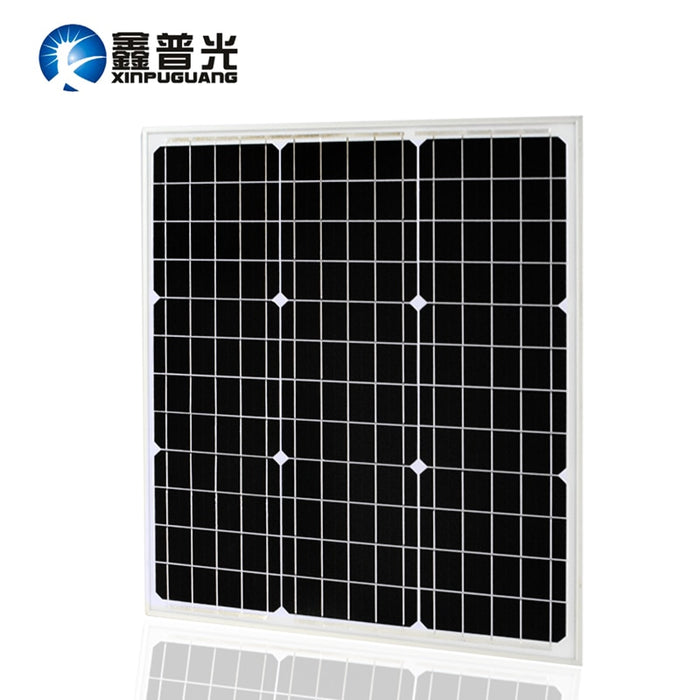 18V 40W Monocrystalline Solar Panel Module by Mono Solar Cell Factory Cheap Selling 12V 40Watt Solar Pate for RV Marine Boat Use - PanasiaMarine.Com